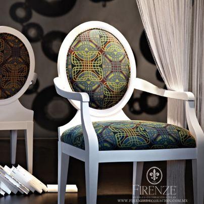 #Firenze, #telas, #hogar #decoracion, #muebles, #silla