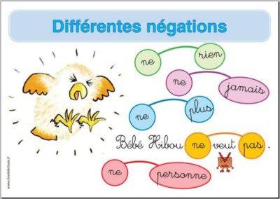 Forme affirmative et forme négative : les différentes négations