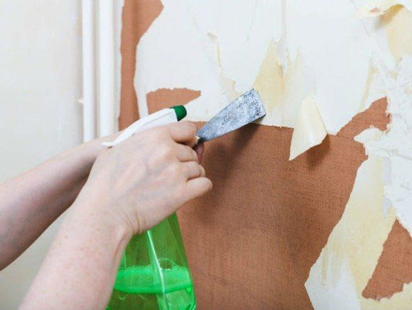 3 Tips On How To Remove Wallpaper Easily Wallpaper Removal Solution Old Wallpaper Removing Old Wallpaper