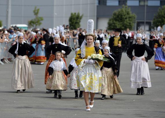 60.000 spectateurs à la grande parade, temps fort du Festival interceltique de Lorient