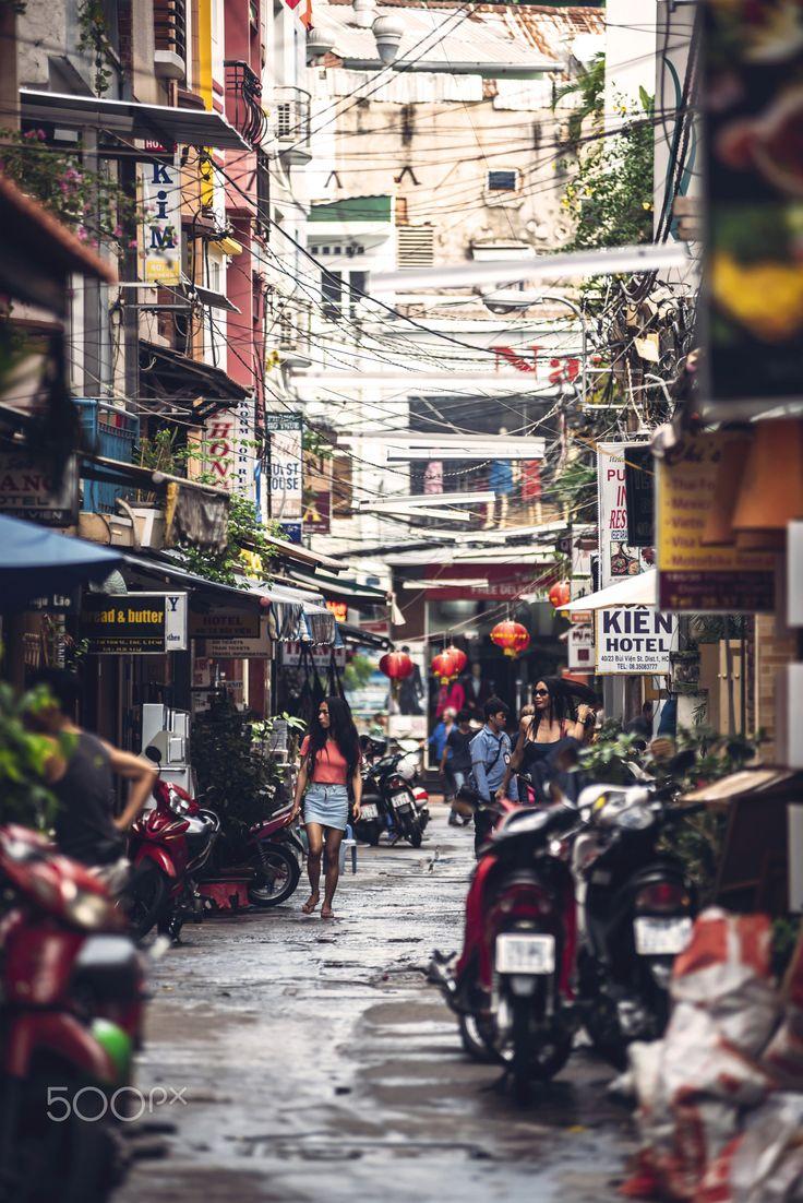 Old Saigon, Vietnam
