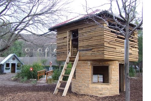 University of Melbourne Early Learning Centre's Eco-Cubby.