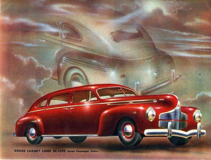 1940 Dodge Luxury Liner Deluxe Seven Passenger Sedan
