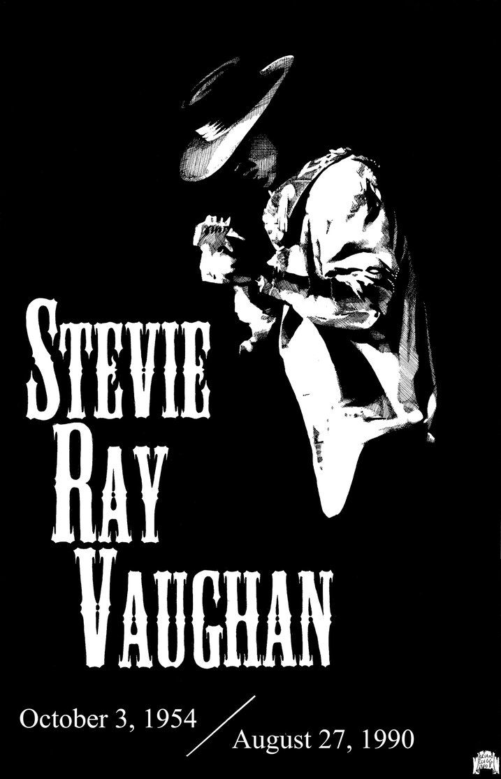 Stevie Ray Vaughan by DarkZoneGraphics