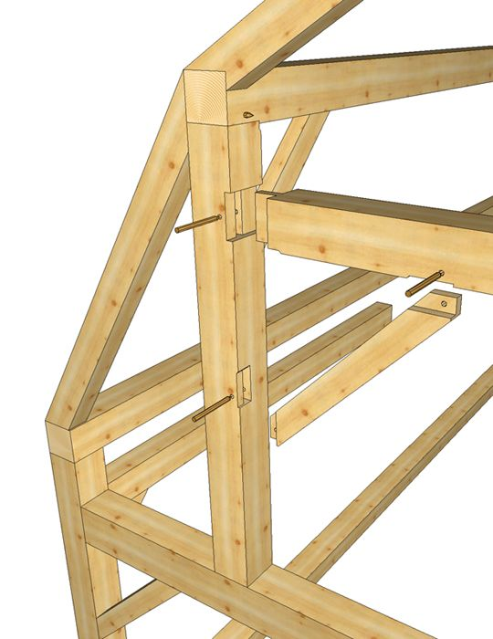how to help timber joinsts to last