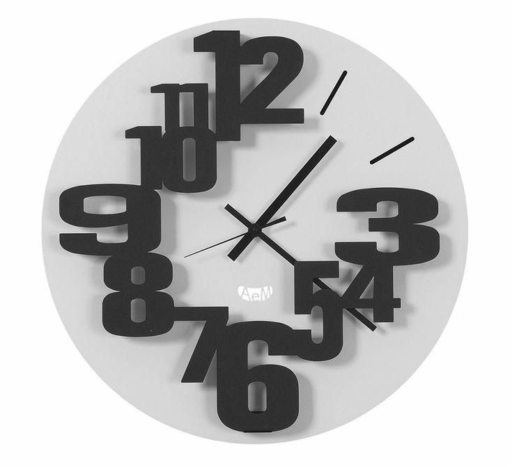 1000 id es propos de grandes horloges murales sur - Horloges murales originales ...