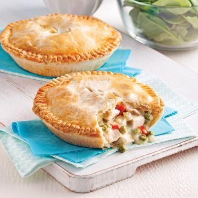 Petits pâtés au poulet - Recettes - Cuisine et nutrition - Pratico Pratique
