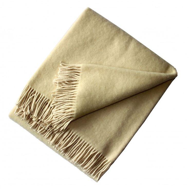 Vlněná deka režná