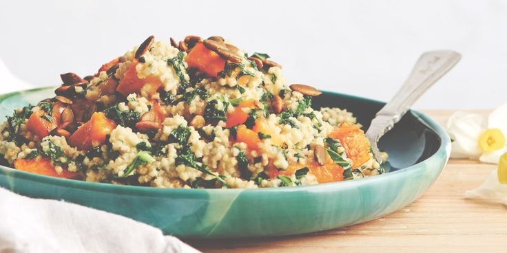 I Quit Sugar: Pumpkin + Millet Risotto by Lola Berry