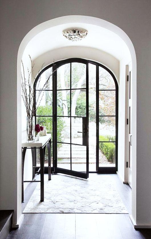 A beautiful front door -- or back patio door  Source: sfgirlbybay | Dream House: door via ryan street & asscociates http://rsassoc.com/projects/