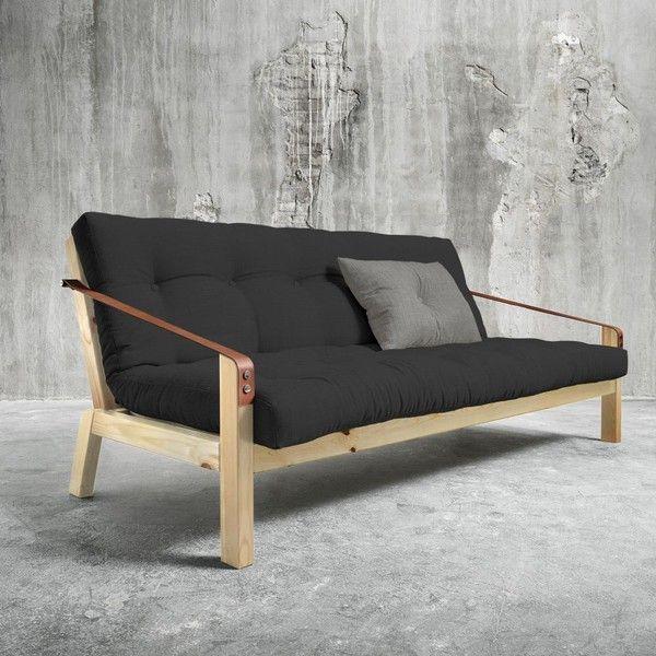 Sofa rozkładana Karup Poetry Natural/Dark Grey/Granite Grey