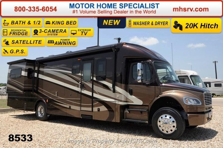 17 best images about super c rv 39 s on pinterest buses for Motor home specialist inc alvarado texas