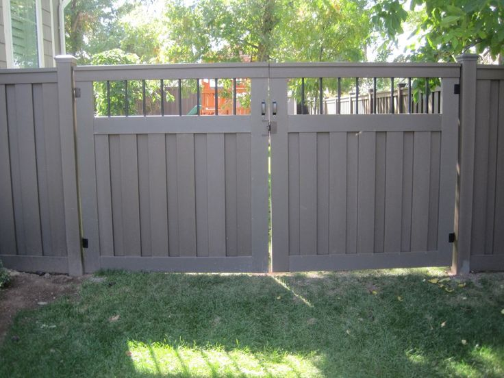 Trex Composite Fencing - Custom Fence Gallery
