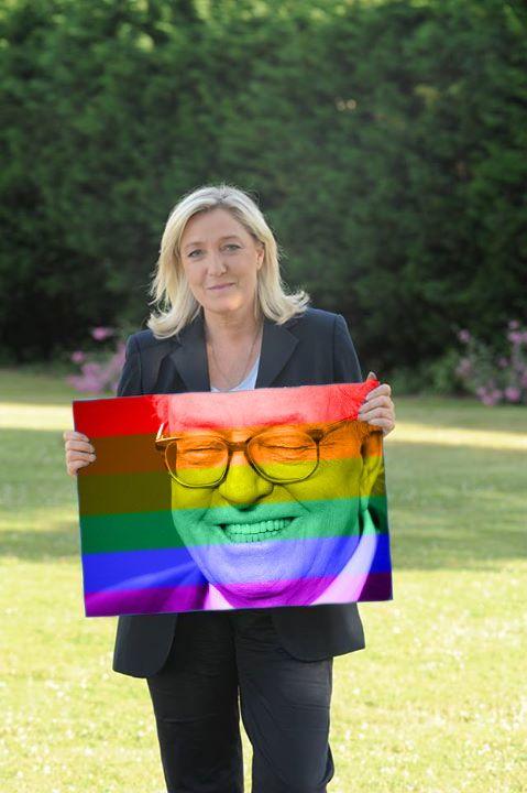 Top 40 des meilleurs détournements de la pancarte de Marine Le Pen, #marineetlapancarte