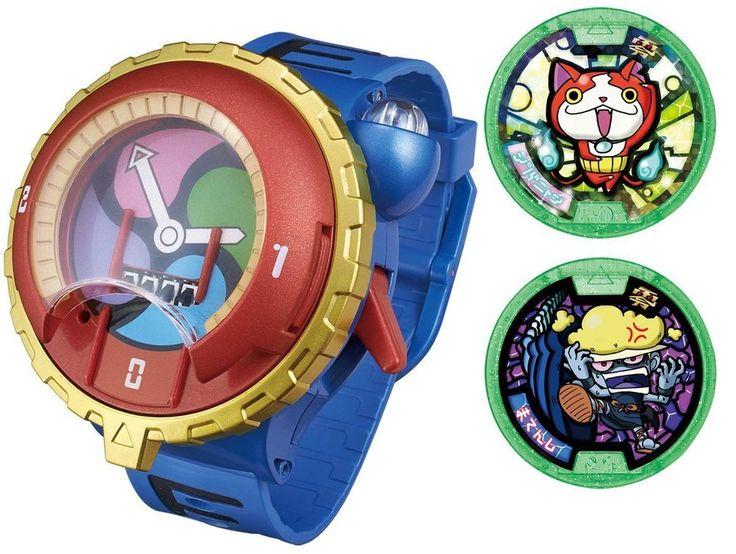 New! DX Yo-Kai Watch Type Zero with 2 Medals Bandai Japan youkai yokai toy blue