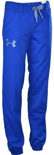 Want these!!! Under Armour Women's UA Light Charged Cotton Storm Pants-Blue:Amazon:Sports & Outdoors