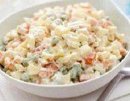 Vrstvený bramborový salát