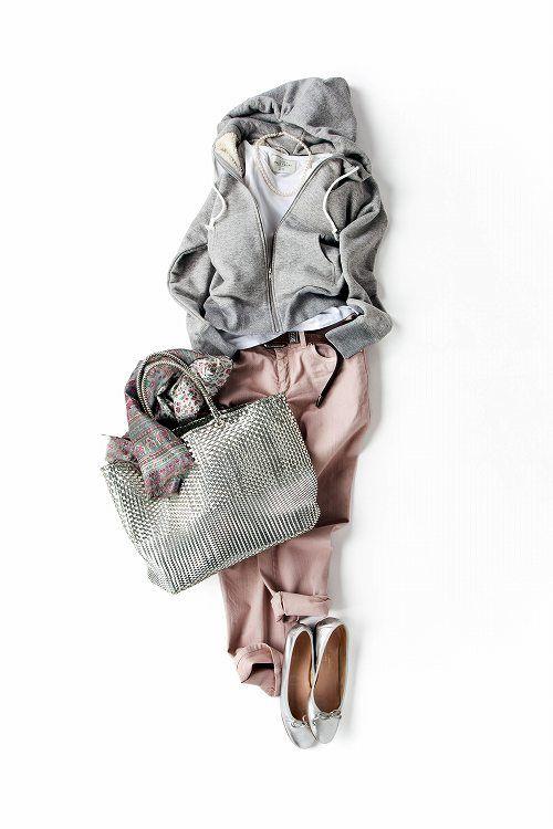 Kyoko Kikuchi's Closet | よく晴れた日。街をたくさん歩くなら、こんな着こなしで