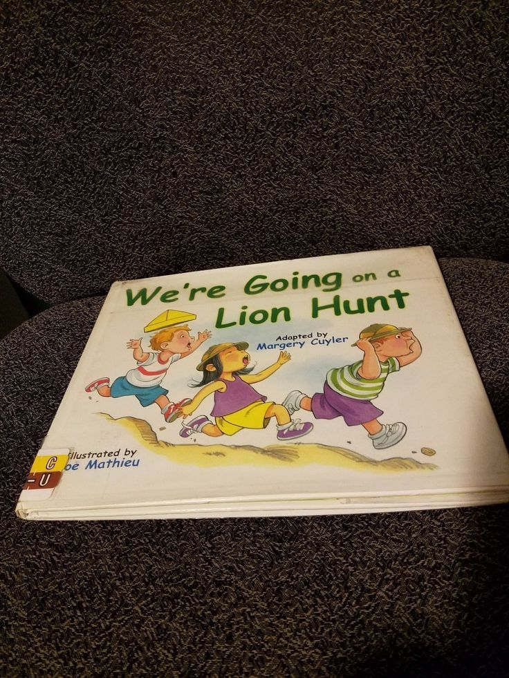We're Going On A Lion Hunt-ExLibrary