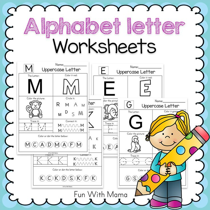 These no prepprintable alphabet letter worksheets are the perfect addition to the letter of the week curriculum and printable alphabet letter crafts! Preschoolers will work on letter recognition through tracing and coloring. My 3 year old loved the printable alphabet letter workbook I created for her. Imagine giving your students this wonderful workbook to take home at the end of the school year. Instructions to create the workbook will be found in this post too. Printable Alphabet Letter W...