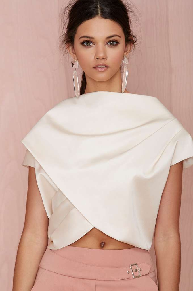 Cameo Blessed Crop Top