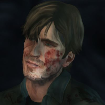 August 2014 - Fanart of Murphy Pendelton from Silent Hill Downpour :)