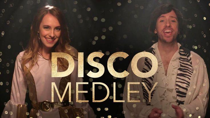 ABBA Disco Medley - Peter Hollens feat. Bailey Pelkman   Disco. Popular music. Short movies