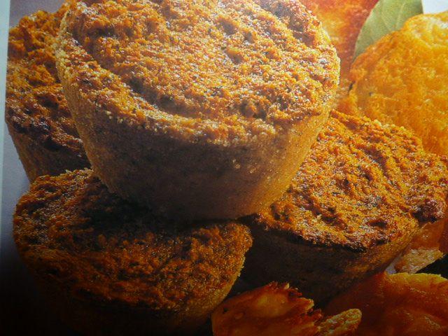 tortino di carote - con sfoglie di grana - ottimi tortini di carote con parmigiano speziato servito con sfoglie di grana delizioso antipasto