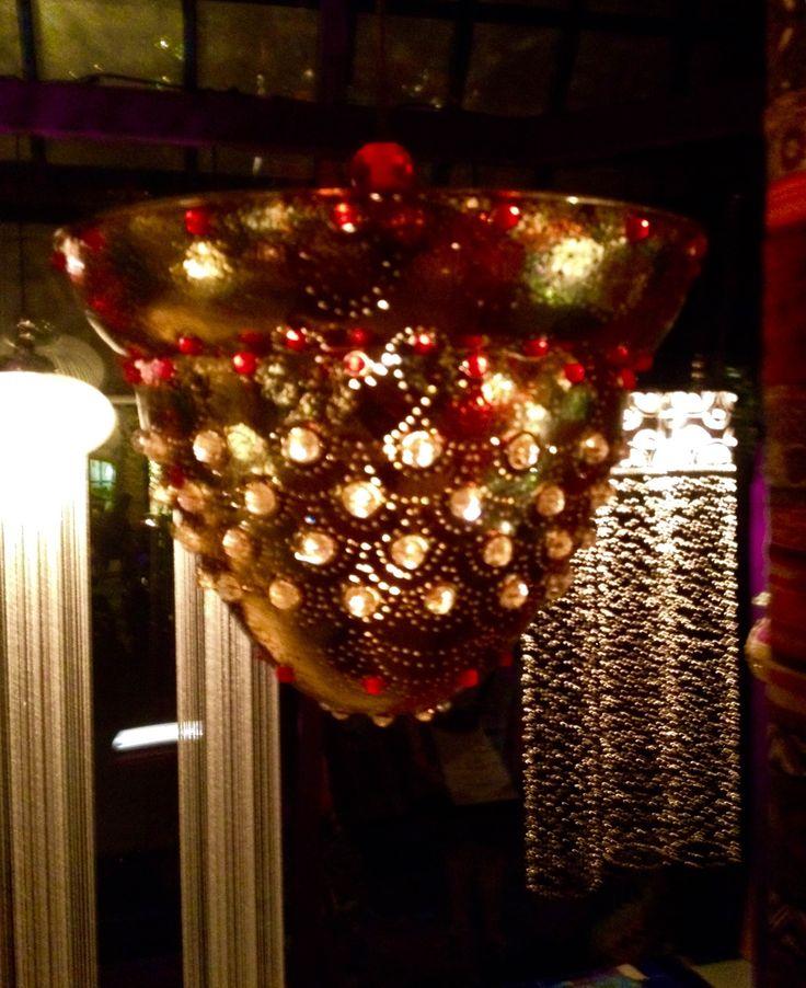 Brass Hanging Lamp 850 $