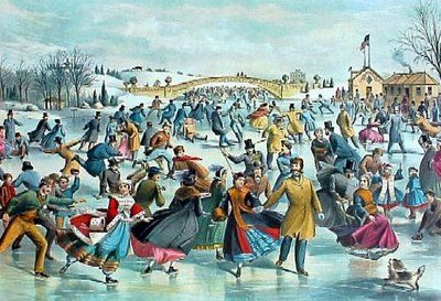 It'll nearly be like a picture framed by Currier & Ives! I remember this picture in a huge C book my mother had in our living room growing up <3