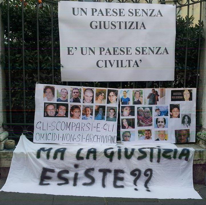 14 giugno 2015 Roma iniziativa DOVE SEI www.fabriziocatal...