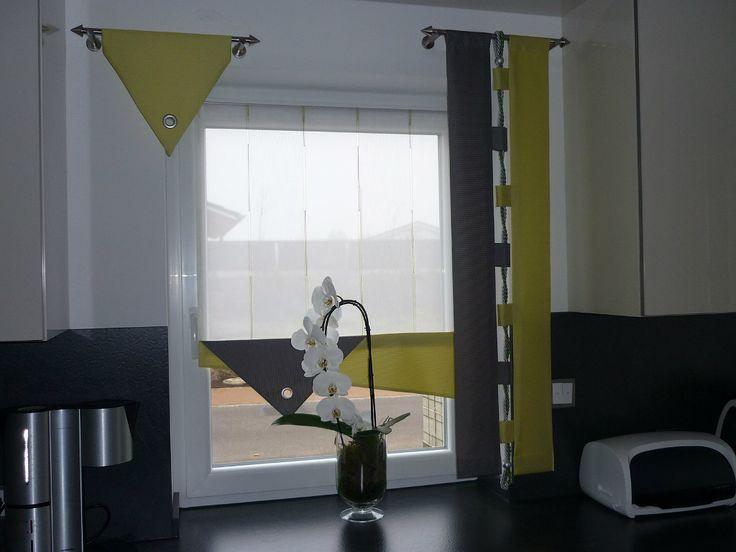 die besten 25 schiebegardine ideen auf pinterest fl chenvorh nge fensterdeko gardinen ideen. Black Bedroom Furniture Sets. Home Design Ideas