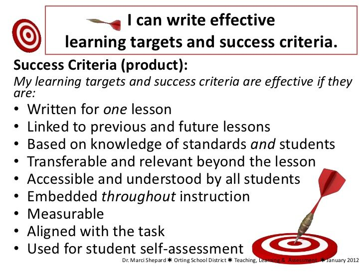 essay success criteria Success criteria: recount writing knowledge i will describe an event or series of events in chronological order my writing will be about a main idea and have a focused.