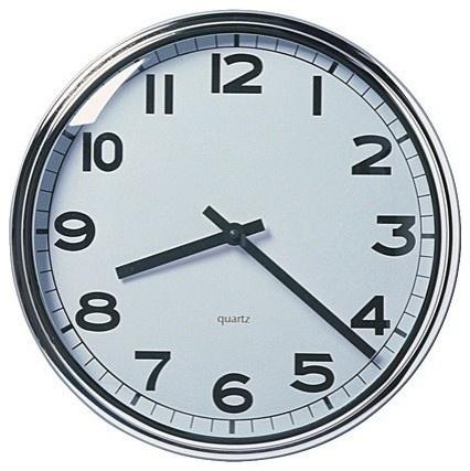 bathroom? from Ikea: Time Zone Clocks, Pugg Wall, Wall Clocks, Time Healing, Man Clocks, Kitchens Clocks, High Schools, Clocks Watches, Stainless Steel