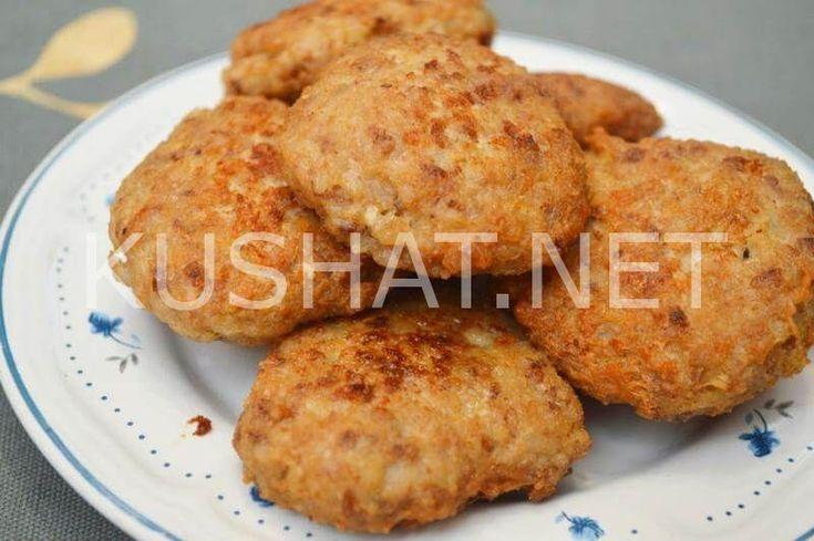 Куриные котлеты с гречкой. Рецепт с фото