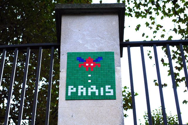 #France #Paris #streetart #Invader #spaceinvaders