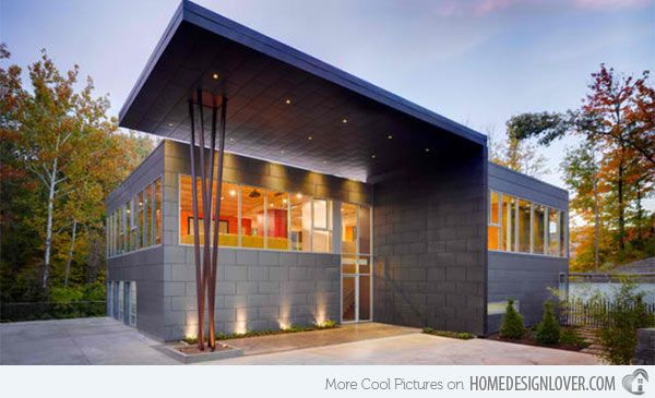 Image from for Modern zinc houses