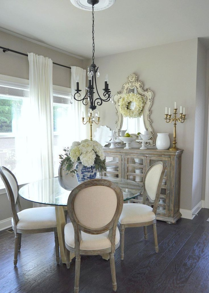 second image for 49 Elegant Small Dining Room Decorating Ideas with 15 French Country Decor Ideas for Elegant House | living ...