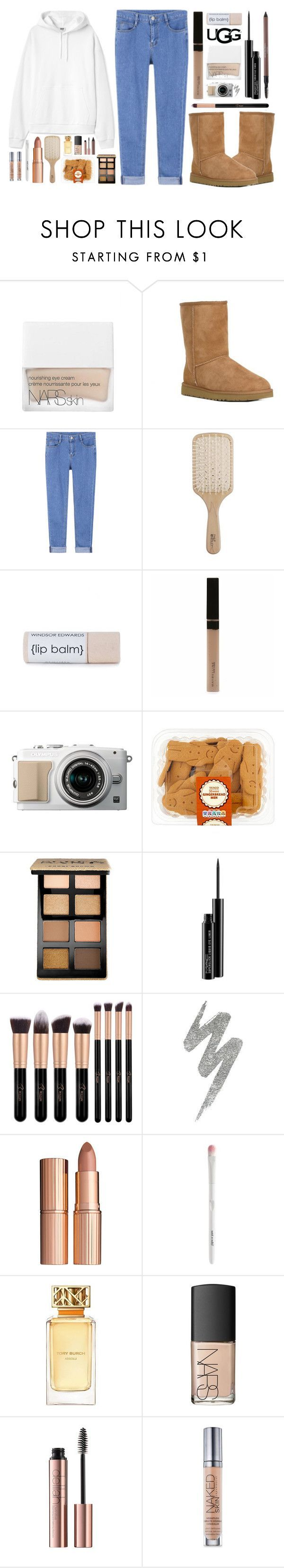 Lazy days by itsfashioninfinity ❤ liked on Polyvore featuring NARS Cosmetics, UGG Australia, UGG, Philip Kingsley, Maybelline, Bobbi Brown Cosmetics, MAC Cosmetics, Urban Decay, Charlotte Tilbury and Tory Burch