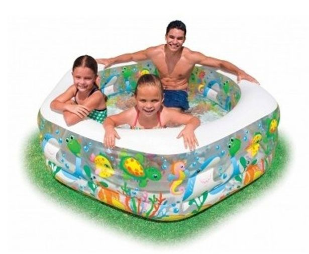 Kids Water Pool Ocean Inflatable Child Fun Swimming Outdoor Court Toy Birth Tub