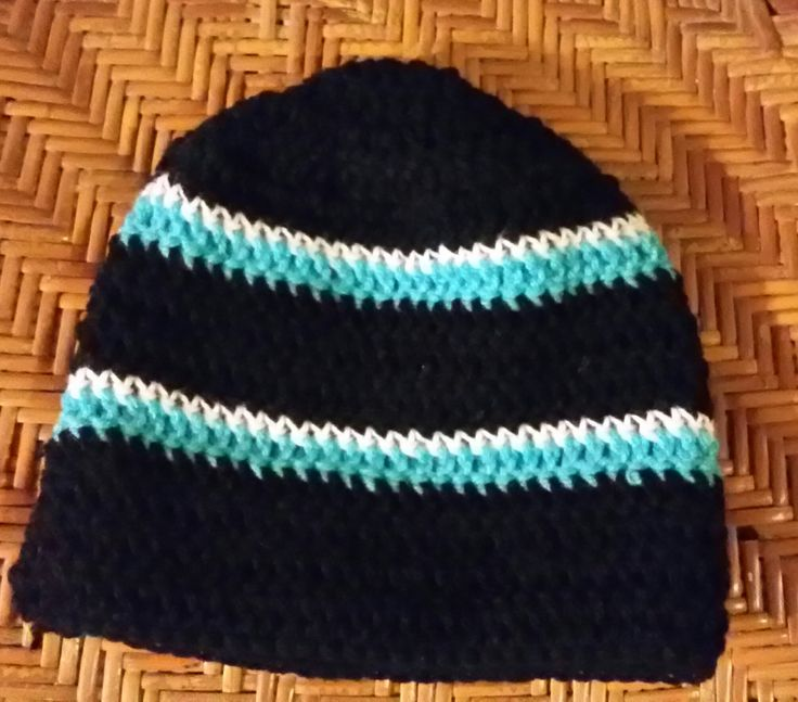 Carolina Panthers Hat, Sports Tobaggon, Lightweight Hat, Panthers Beanie, Carolina Panthers Accessory, Team Spirit Hat, Newborn Hat, Beanie by irisbearyspecial on Etsy