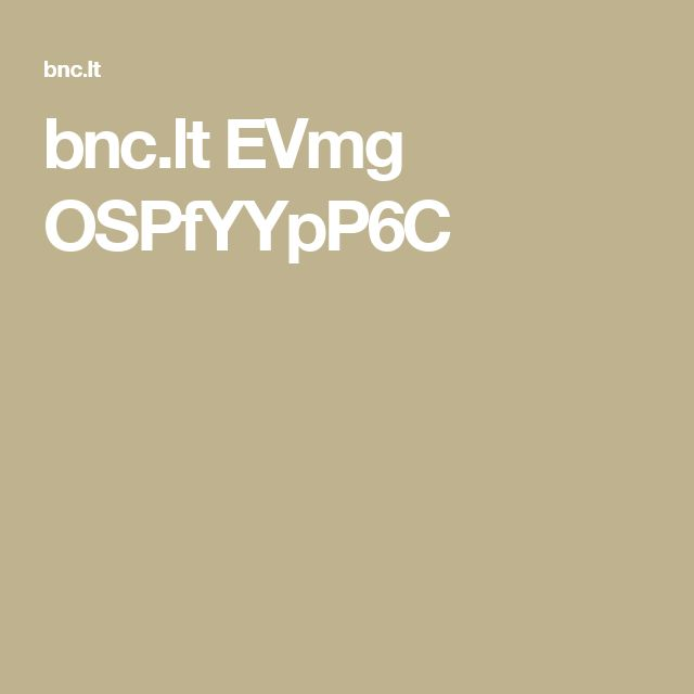 bnc.lt EVmg OSPfYYpP6C