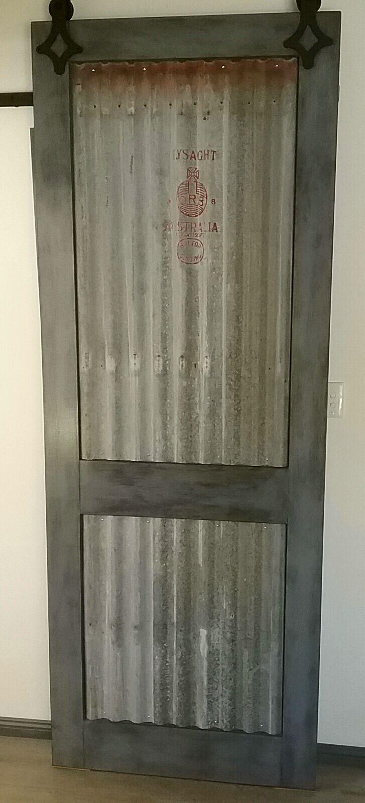 Industrial Barn Door made for Jen & Chris