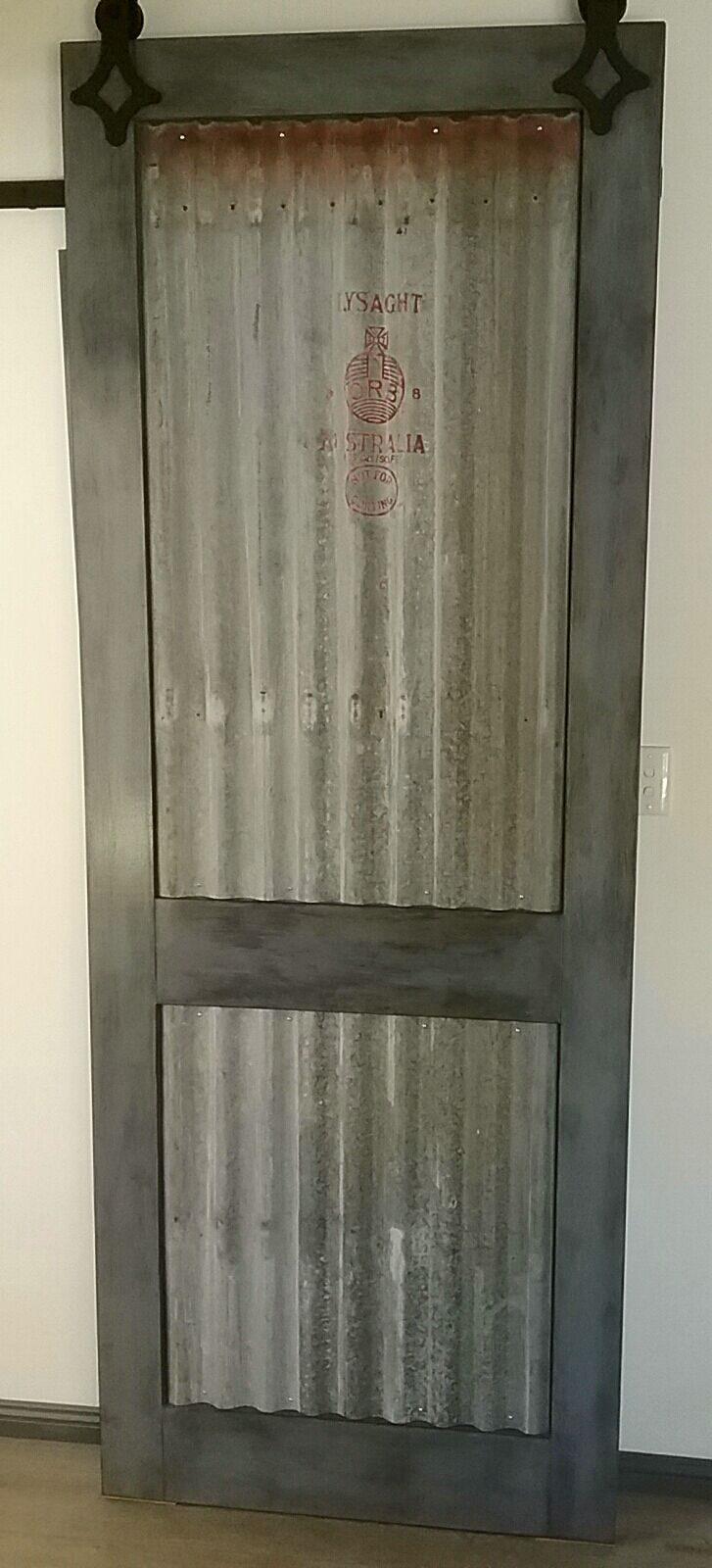 Industrial Barn Door made for Jen & Chris
