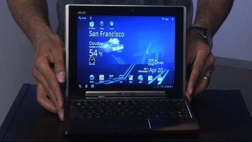 It's a tablet and a netbook. Love. $399 #Asus