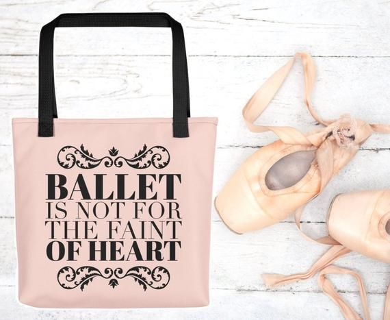 Ballet Teacher Gift Ballet Related Gifts Bunhead in Charge Tote Bag