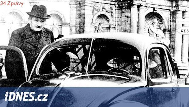 Vychází kniha o Porscheho začátcích pod hákovým křížem