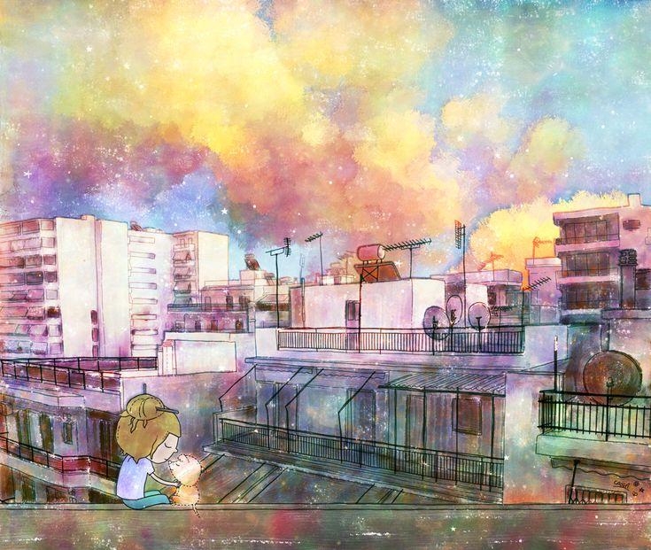 Городская жизнь, Кристина Тзвис -