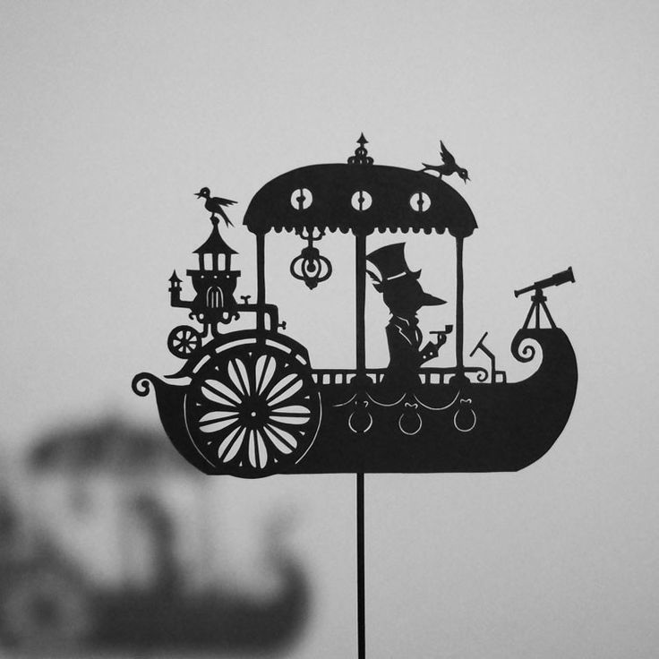 For the rowers keep on rowing, And they're certainly not showing Any signs that they are slowing... Roald Dahl A Dream Steamboat / Laser-cut Shadow Puppet. $15.50, via Etsy. http://www.pinterest.com/memepistache/el-t%C3%ADtere-un-objeto-bello/