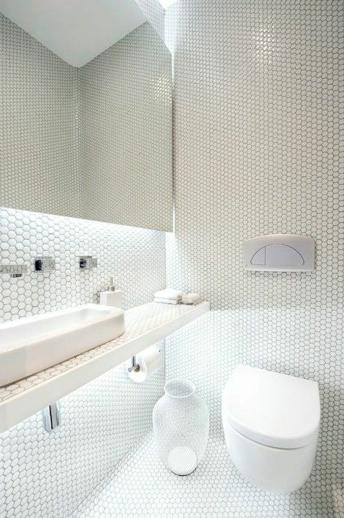 Les 25 meilleures id es concernant salle de bains en for Mozaique salle de bain